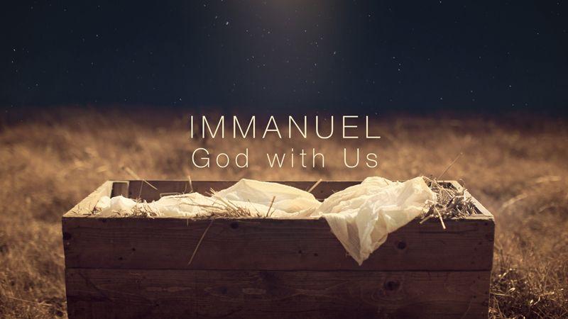 Christmas Poem 7: Immanuel - God With Us!