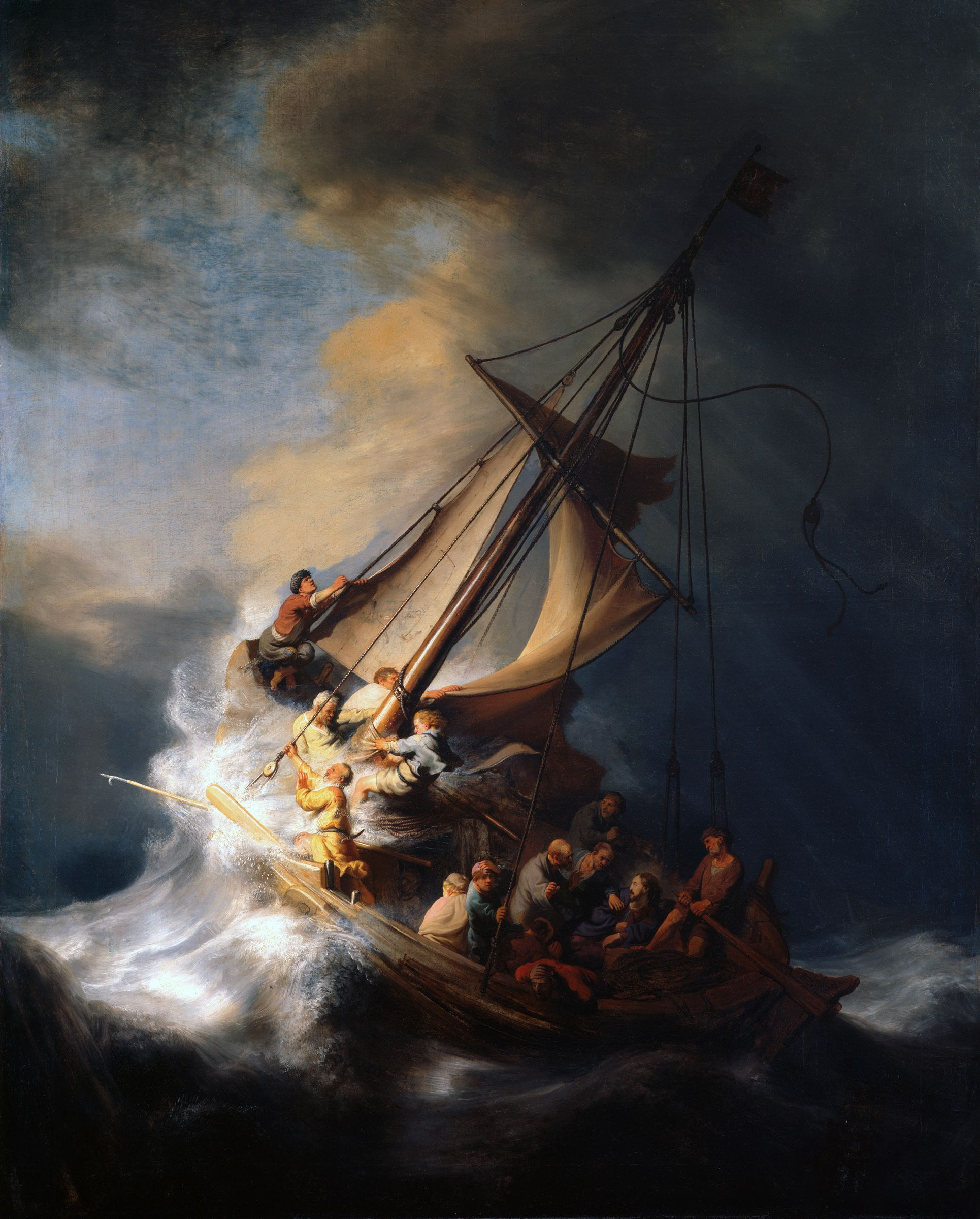 A Poem of Jesus in the Storm
